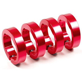 Sixpack Replacement Clamp Rings 4 person red